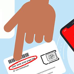 Activation carte SIM Syma Mobile