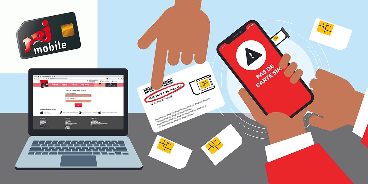 Activer carte SIM NRJ Mobile