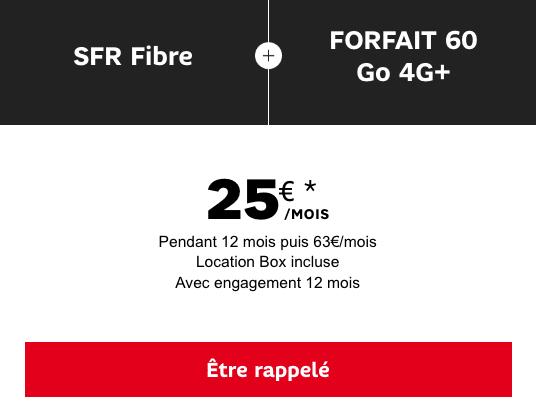 Forfait mobile et box internet pas chères SFR.