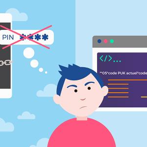 Oubli code PIN
