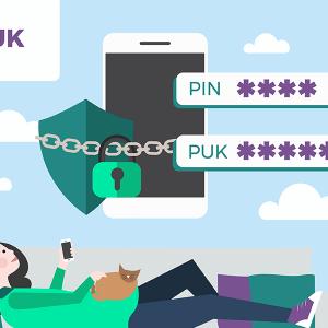 Oubli code PUK