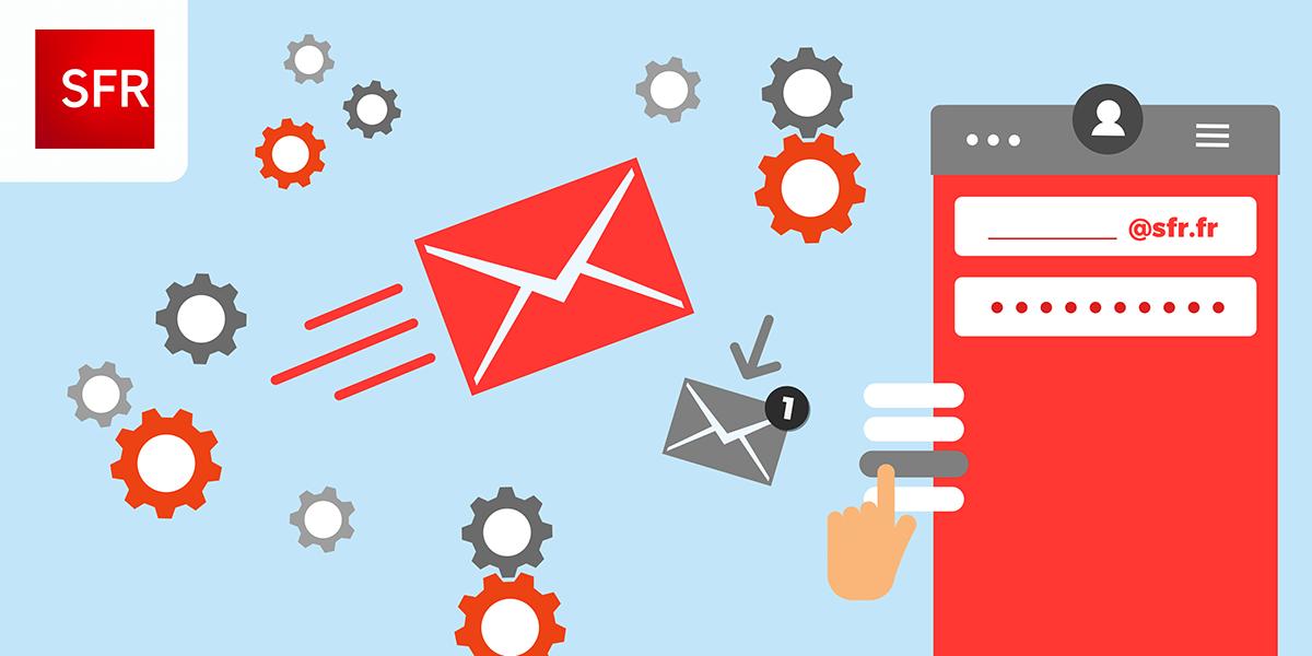 Configurer son adresse mail SFR sur un telephone