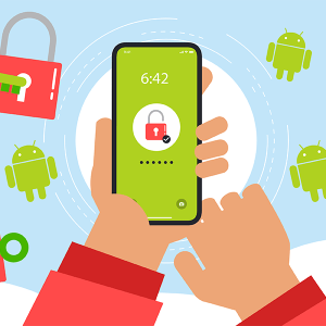 Oubli code verrouillage Android