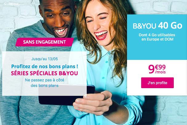 Le forfait 4G de Bouygues Telecom