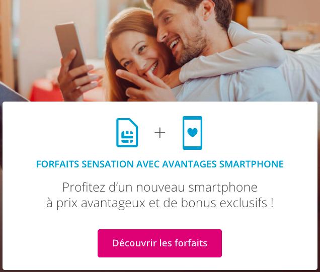 forfait mobile avec smartphone