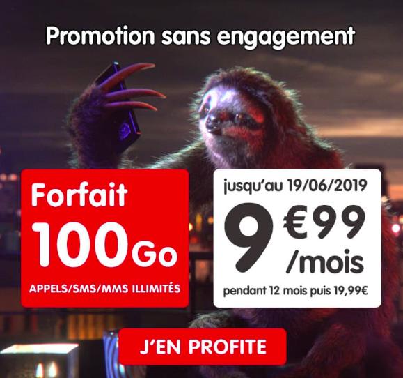 Le forfait NRJ mobile en promotion