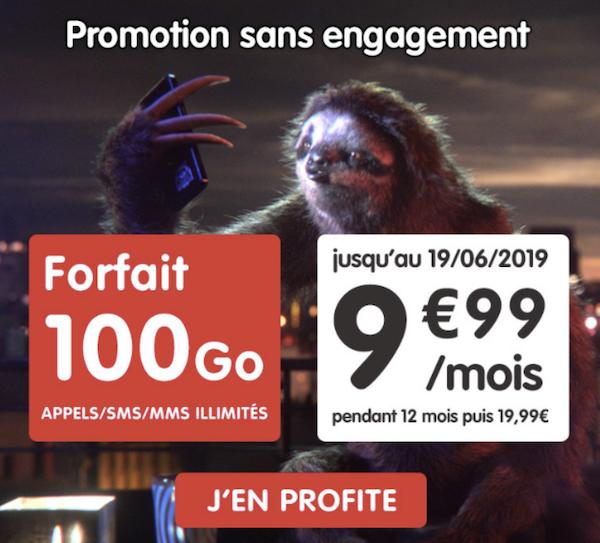 l'offre promotionnelle auchan telecom pour 9,99€ par mois