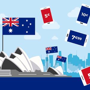 Les forfaits mobiles pour l'Australie
