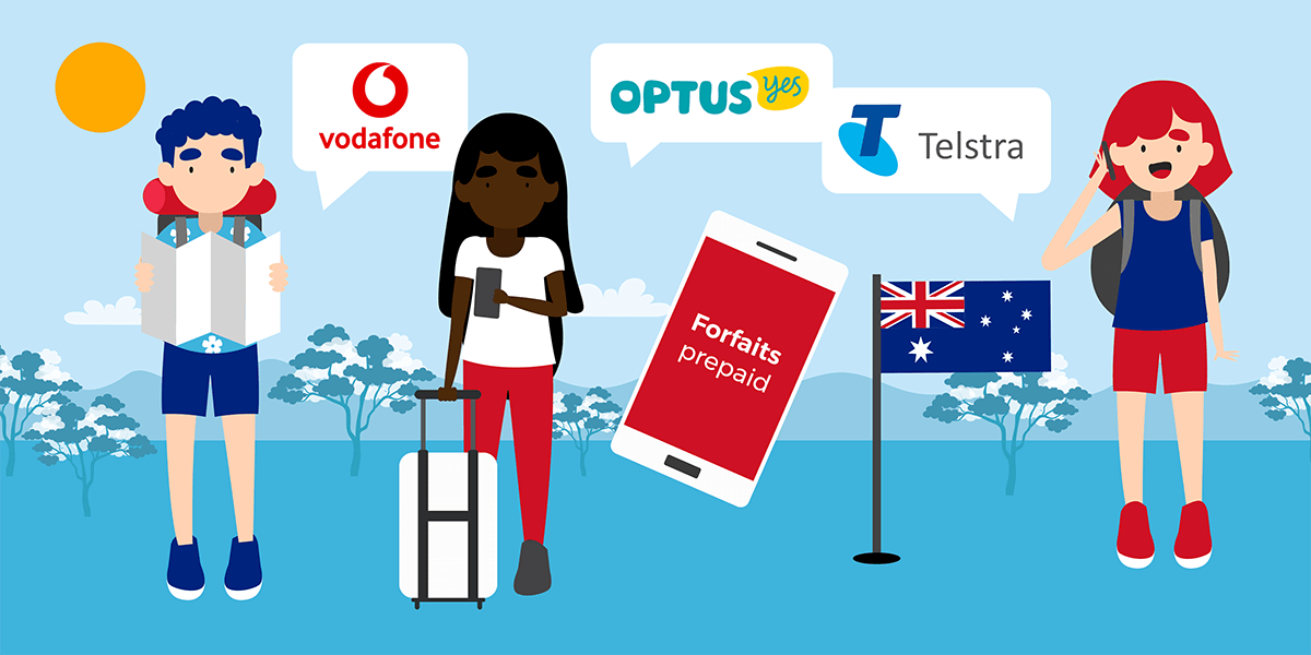 Opérateurs mobiles Australie
