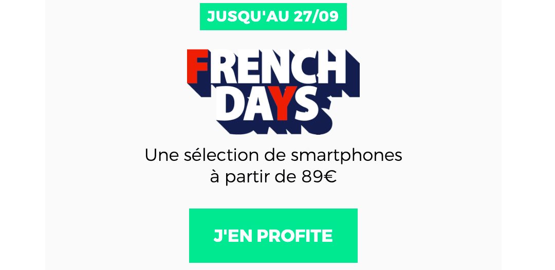 Promo French Days RED by SFR