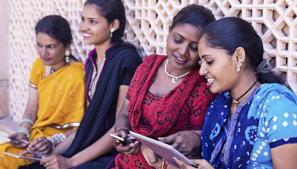 L'Inde est une zone importante pour augmenter les ventes de smartphones neufs