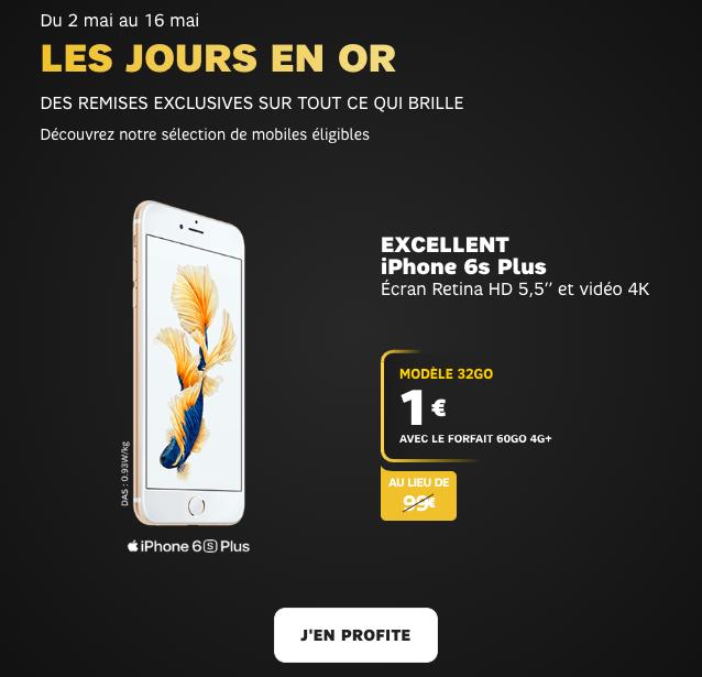promotion iphone sfr