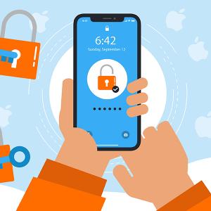 Oubli code verrouillage iPhone