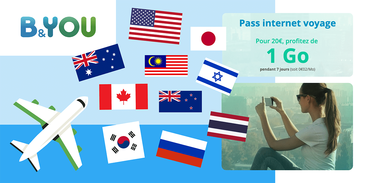 Pass internationaux B and YOU