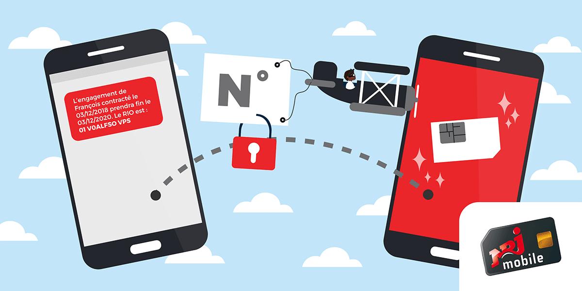 Portabilité d'un numéro NRJ Mobile