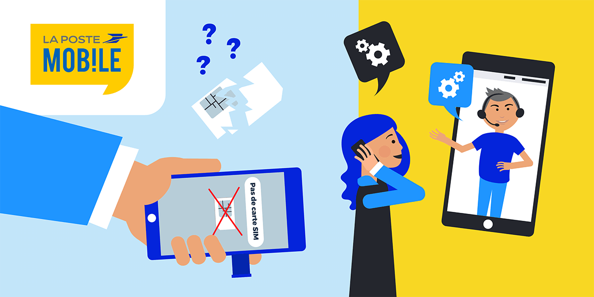 Problème carte SIM La Poste Mobile