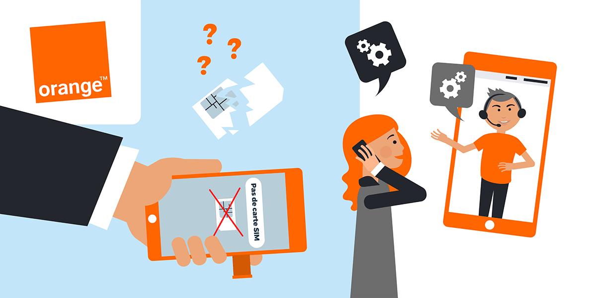 Problème carte SIM Orange