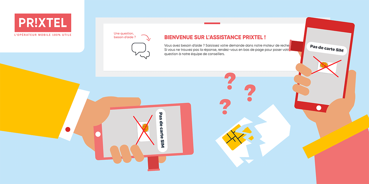 Problème carte SIM Prixtel