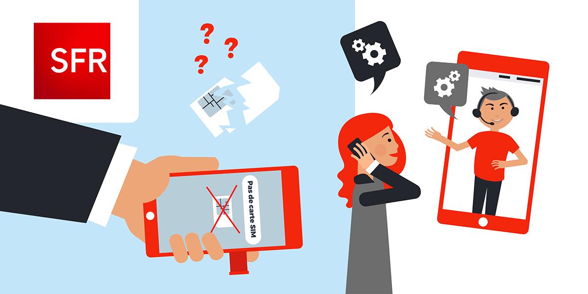 Problème carte SIM SFR