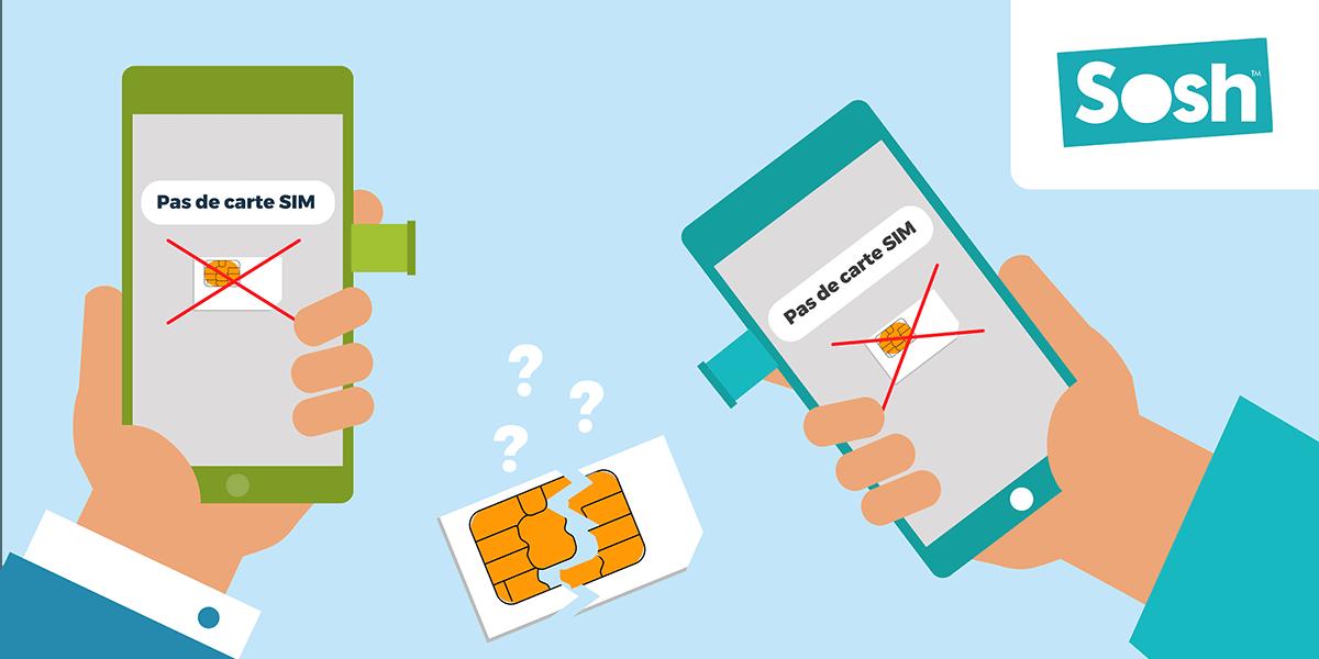 Problème carte SIM Sosh