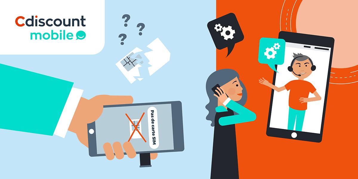 Problème carte SIM Cdiscount mobile