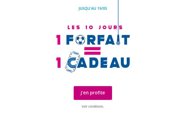 Promotion Bouygues Telecom avec cadeau.