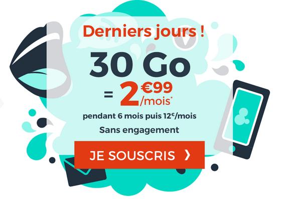 Cdiscount Mobile promotion forfait sans engagement.