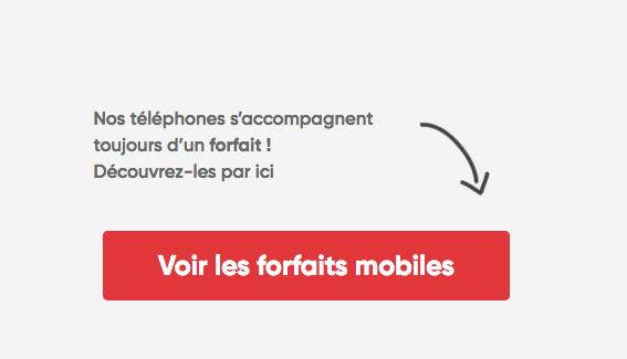 Promotion forfait 4G pas cher Prixtel.