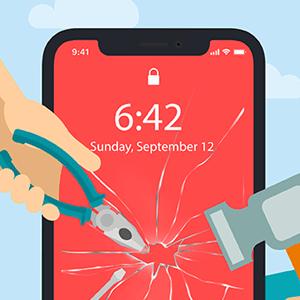 Protéger smartphone choc