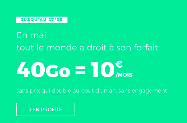 le forfait red by sfr