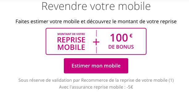 Bouygues Telecom promotion Samsung Galaxy S10.