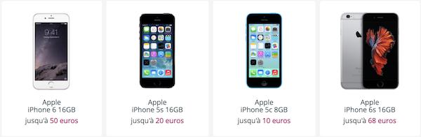 Bouygues Telecom reprend de nombreux modèles de smartphones pour son offre spéciale