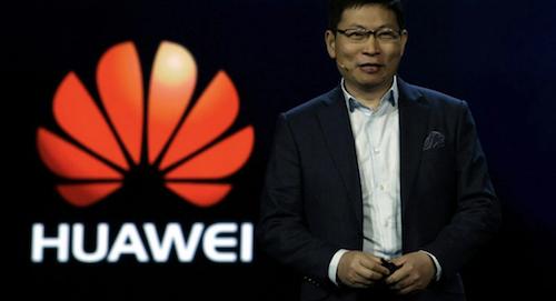 Le président de Huawei au sujet du système d'exploitation