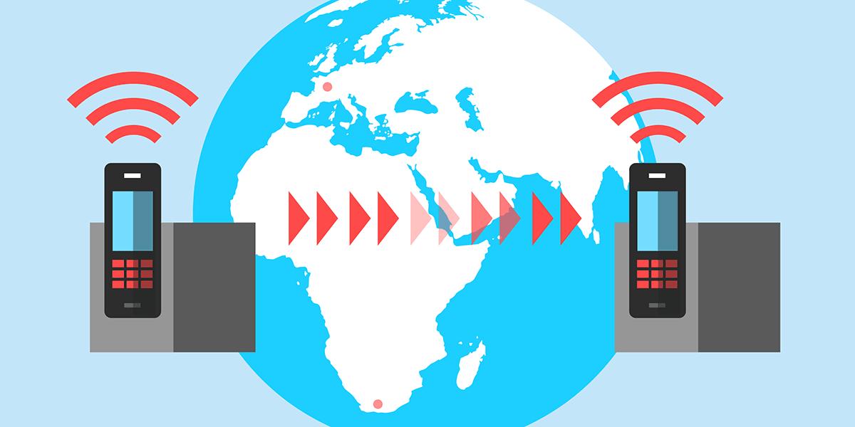 Transfert d'appel vers l'étranger