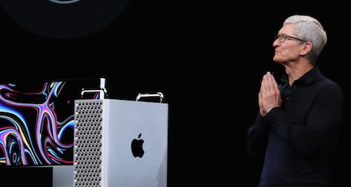 Apple présente également un nouvel ordinateur adapté aux professionnels