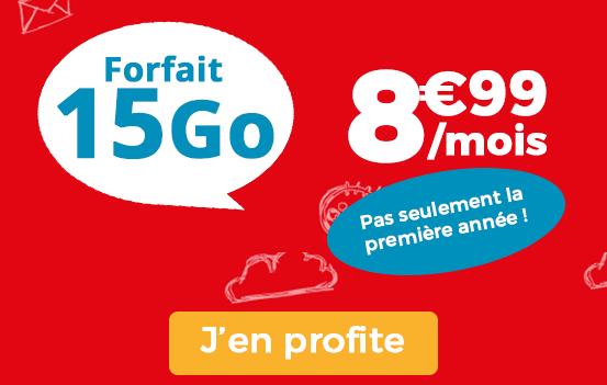 Promotion Auchan Telecom forfait pas cher.