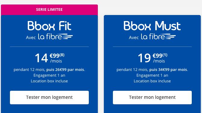 Les offres box internet de Bouygues Telecom