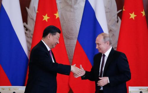 Signature de l'accord 5G entre Huawei (Chine) et MTS (Russie)