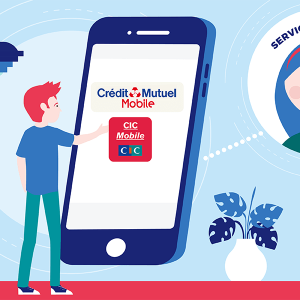 Contact service client CIC Credit Mutuel Mobile