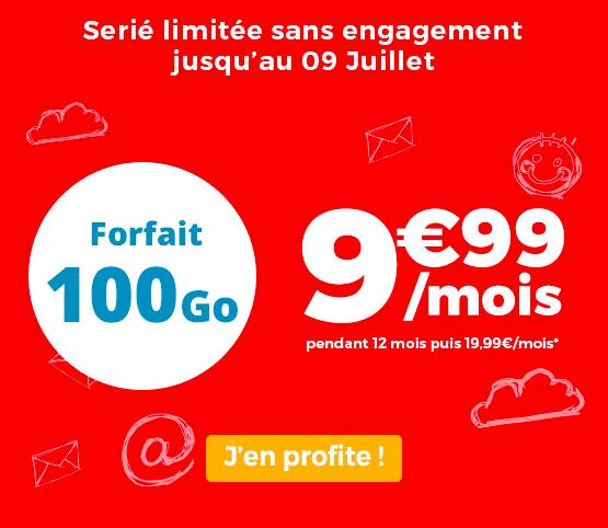 le forfait en promo auchan Telecom