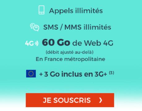 Cdiscount Mobile promotion forfait sans engagement pas cher.