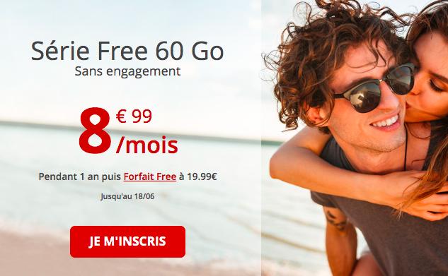 le forfait 50 Go de Free mobile