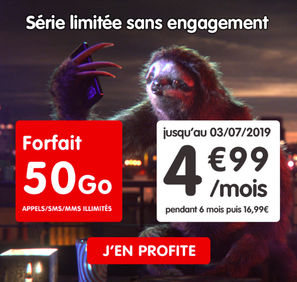 la promotion de nrj mobile