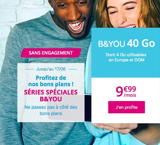 B&YOU de Bouygues Telecom
