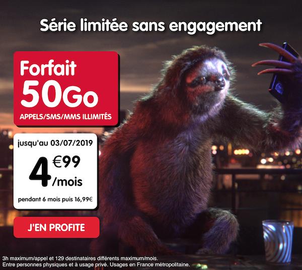 La nouvelle promotion NRJ Mobile pour un forfait à 5€