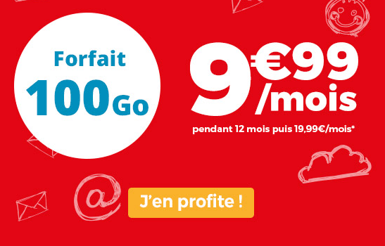 Auchan Telecom promotion forfait mobile riche en data.