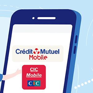 Service client CIC Credit Mutuel Mobile