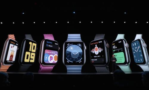 Apple annonce des nouveautés pour sa montre connectée lors de la WWDC 2019