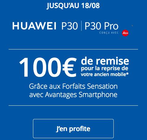 Bonus de reprise Bouygues Telecom nouveau smartphone.