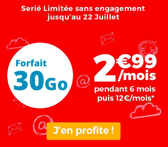 30 Go à 2,99€